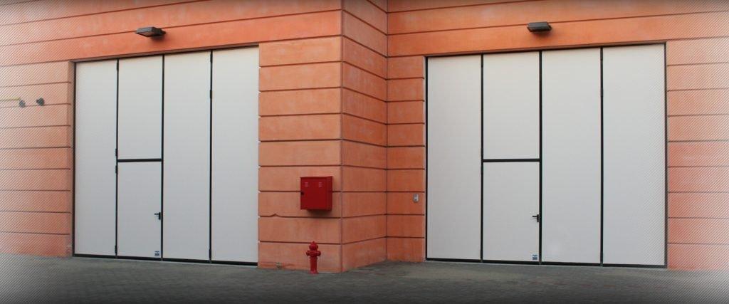 porte industriali a libro - Ferrari Porte