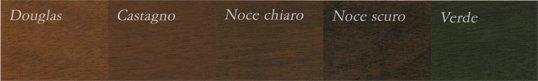 colorazioni porte sezionali in legno - Ferrari Porte