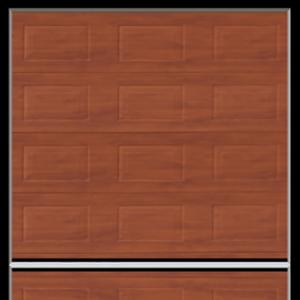 Porte sezionali in metallo da garage in legno - Ferrari Porte